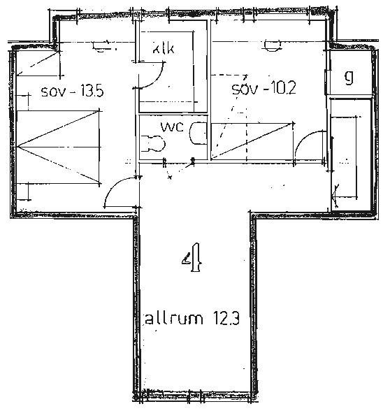 Ledig lägenhet i Nässjö